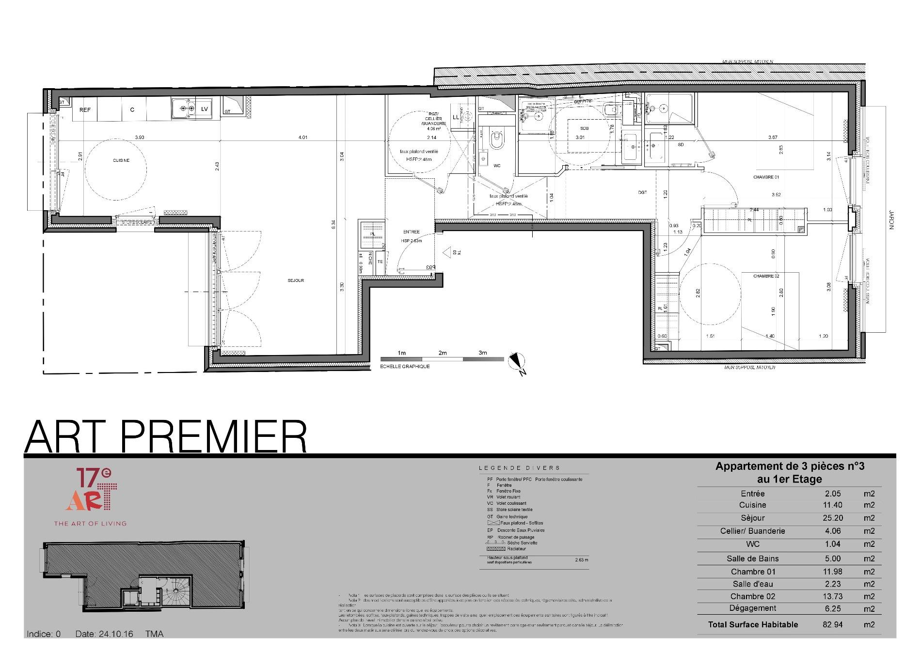 offres programmes neufs appartement art premier 3 ou 4 pieces m 1er etage. Black Bedroom Furniture Sets. Home Design Ideas